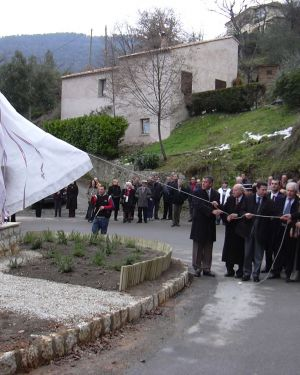 Inauguration de la Source, Saint-Blaise (06)